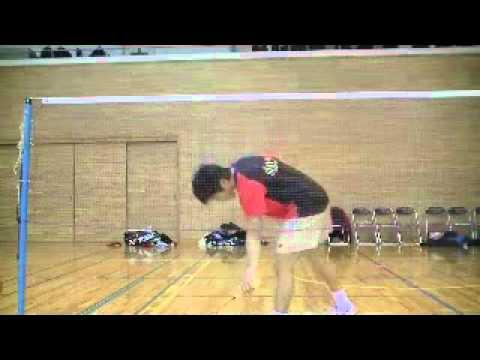 バックハンドロブの打ち方(動画)